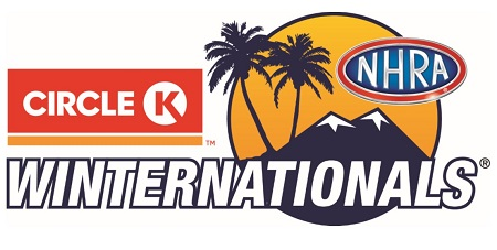 Circle K NHRA Winternationals logo