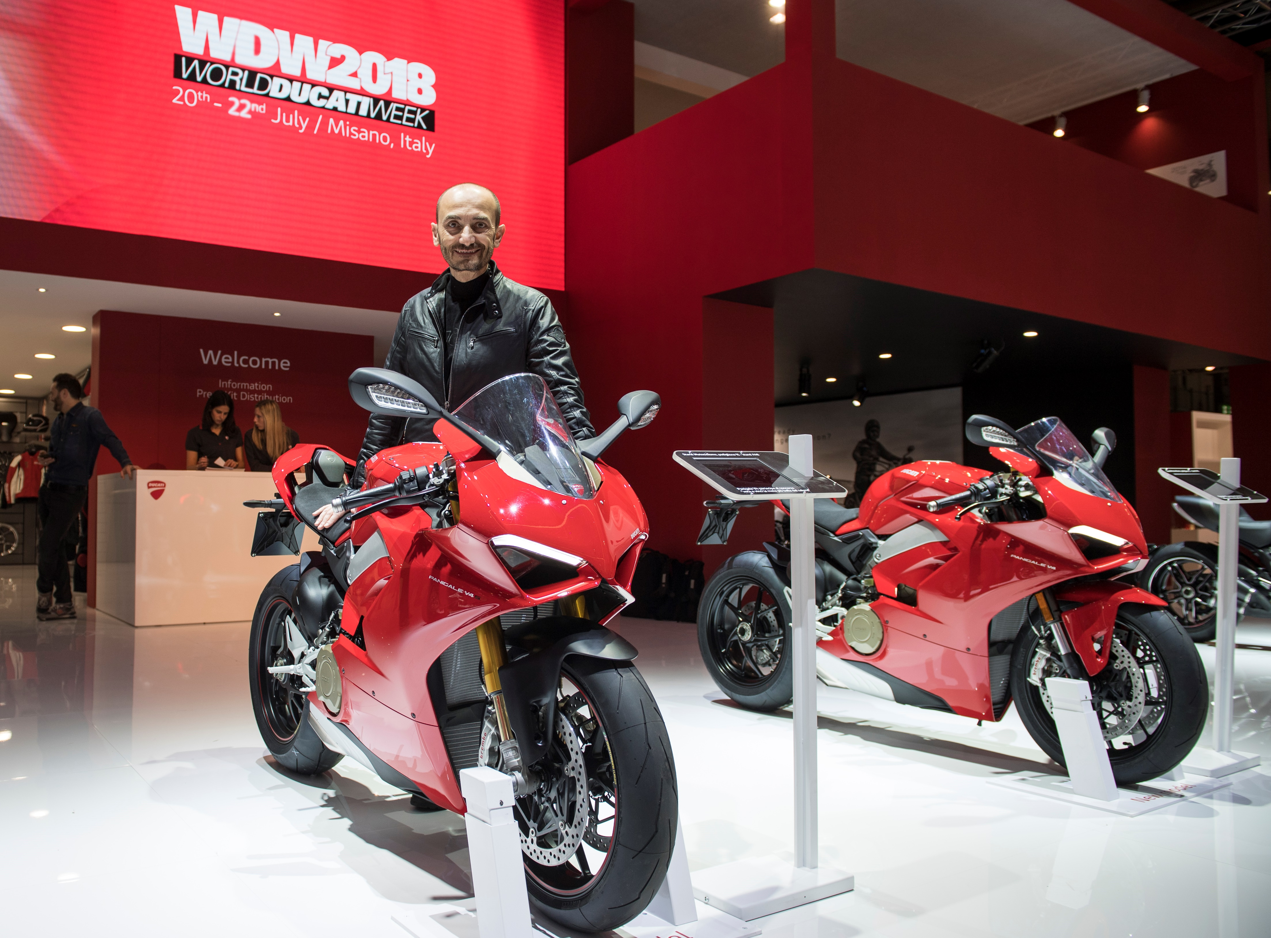 "Ducati Panigale V4 ""Most Beautiful Bike of Show"""