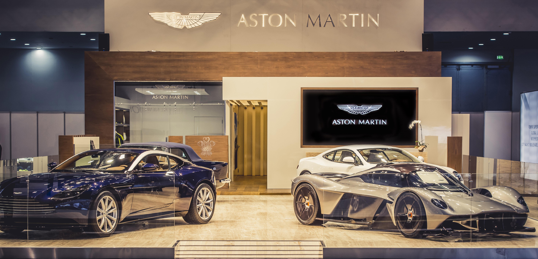 Aston Martin Dubai Motor Show
