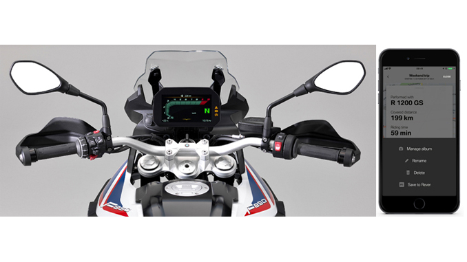 BMW Motorrad & REVER Announce Connected Ride Integration