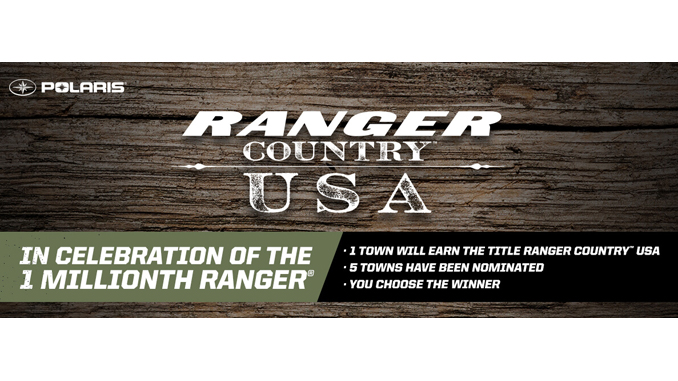 Polaris to Celebrate One-Million RANGER Vehicles