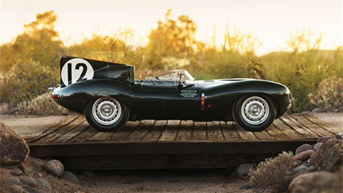 Sotheby's - The Factory Works 1954 Jaguar D Type