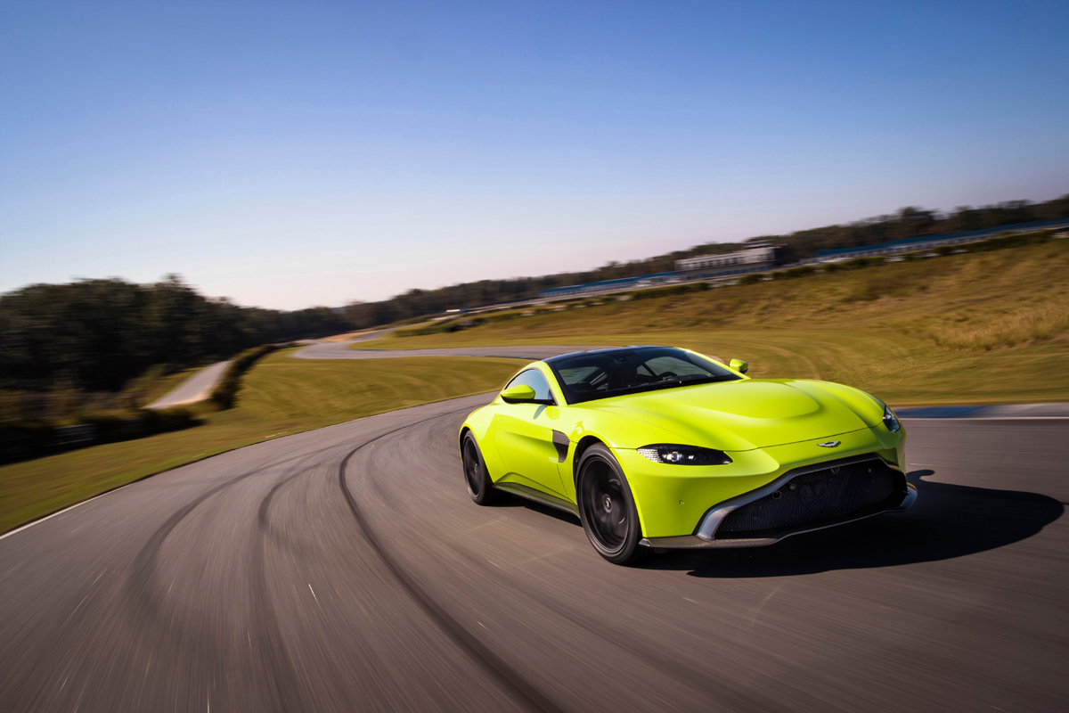 Aston Martin Vantage Lime Essence