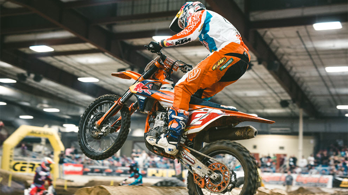 Boise EnduroCross - Cody Webb appears to be on his way to his third EnduroCross championship