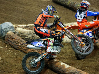 In the EnduroCross Women's-class, Canada's Shelby Turner