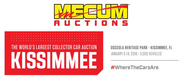 Mecum Kissimmee banner