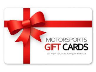 Motorsports Gift Cards