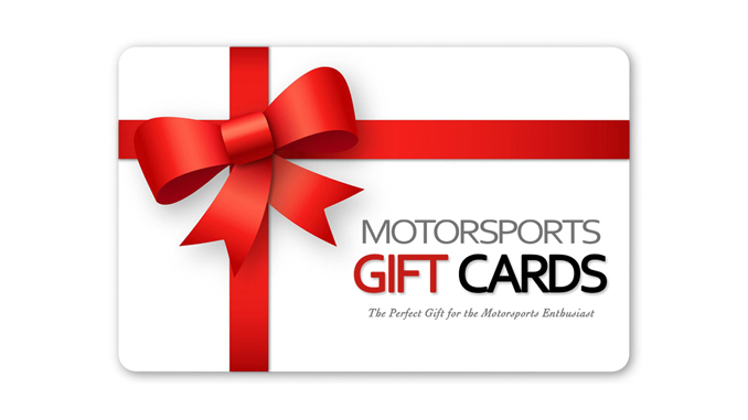 Motorsports Gift Cards