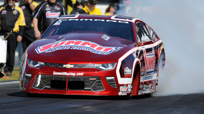 NHRA Pro Stock Greg Anderson action