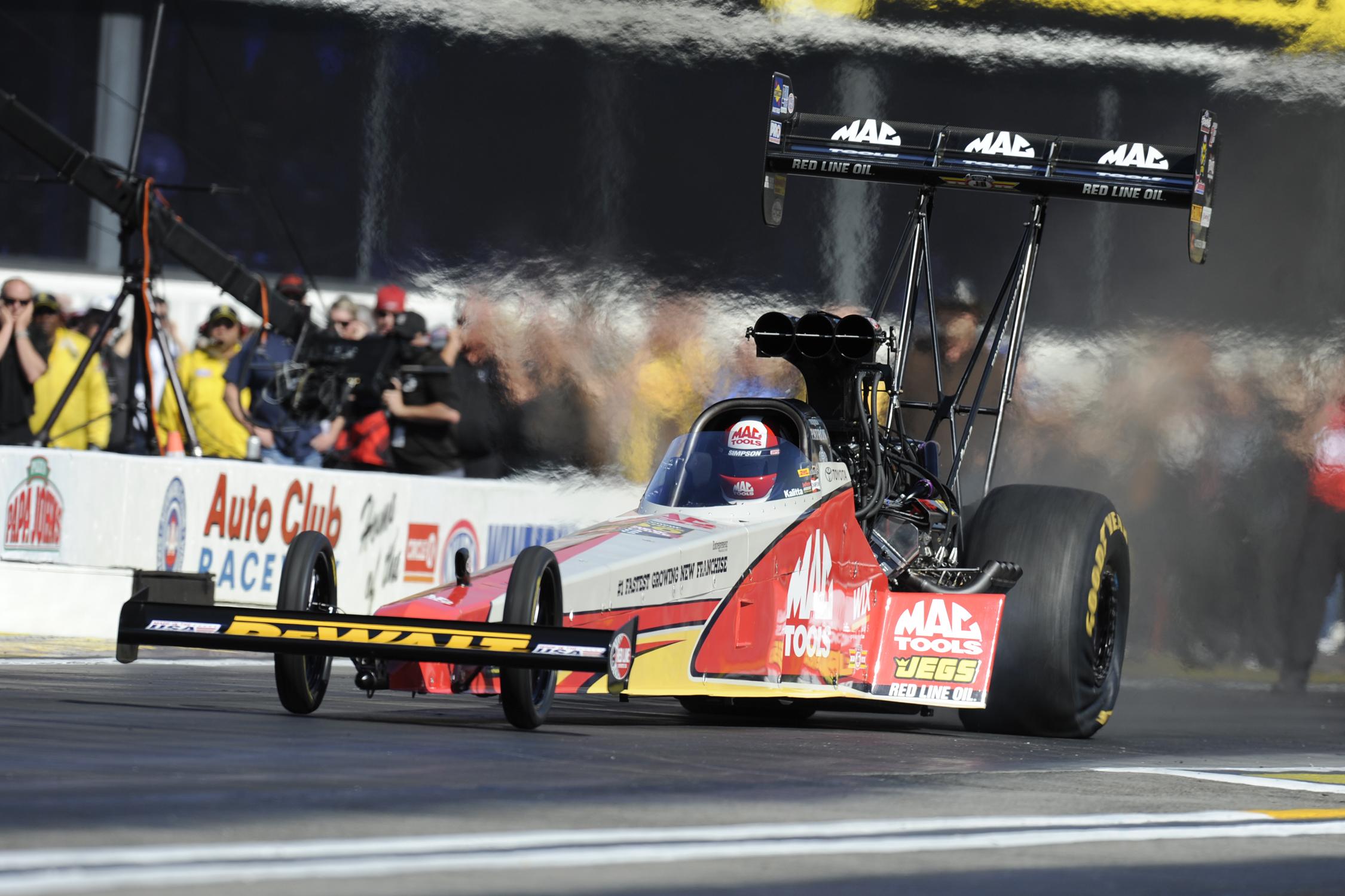 NHRA Top Fuel Doug Kalitta action