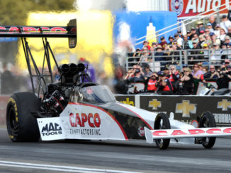 NHRA Top Fuel Steve Torrence action