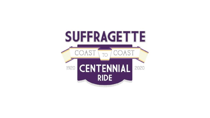 Suffragettes Centennial Motorcycle Ride