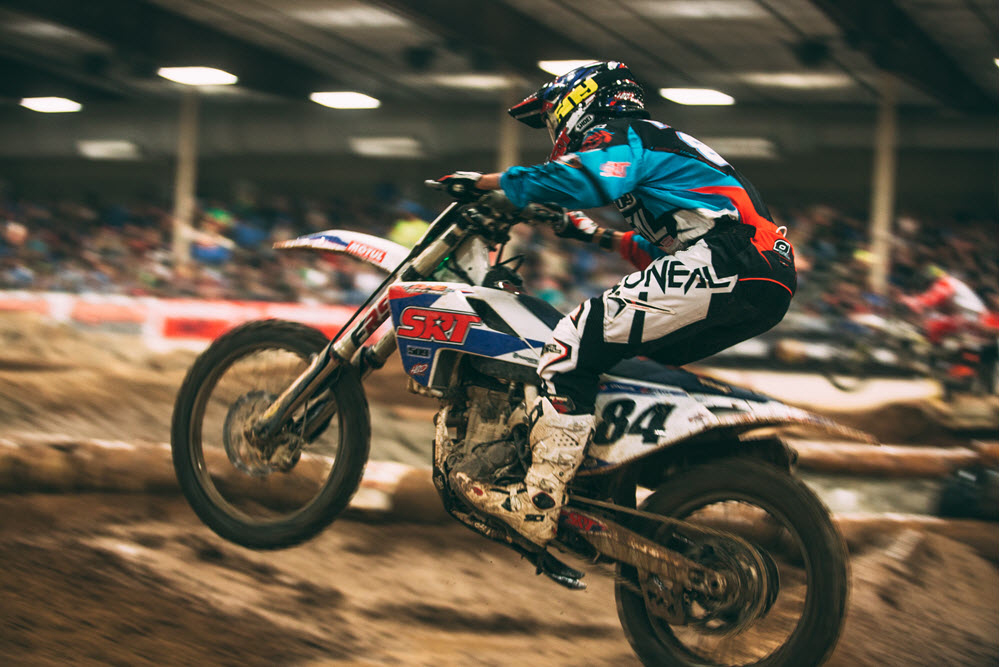 Trystan Hart is becoming one of the stars of EnduroCross