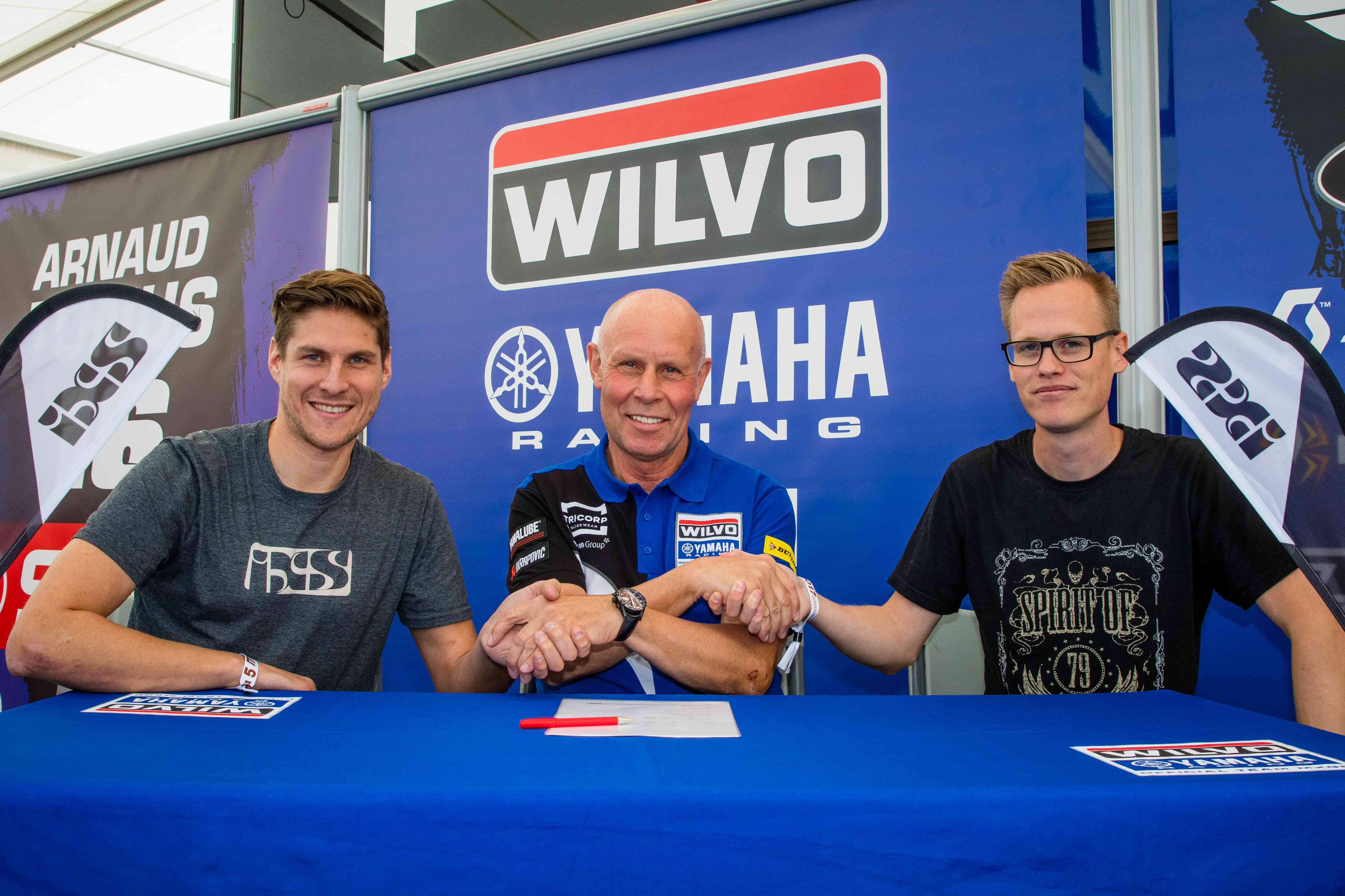 Wilvo Yamaha MXGP team