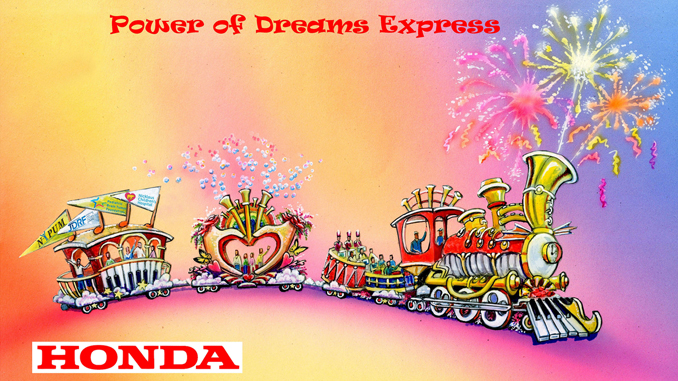 HONDA Rendering 2018 Rose Parade Float