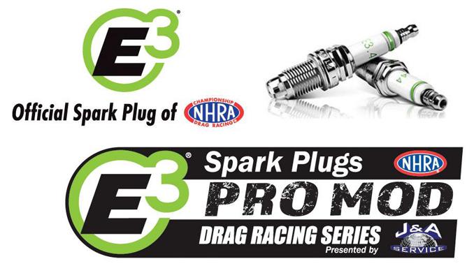 NHRA e3 spark plugs