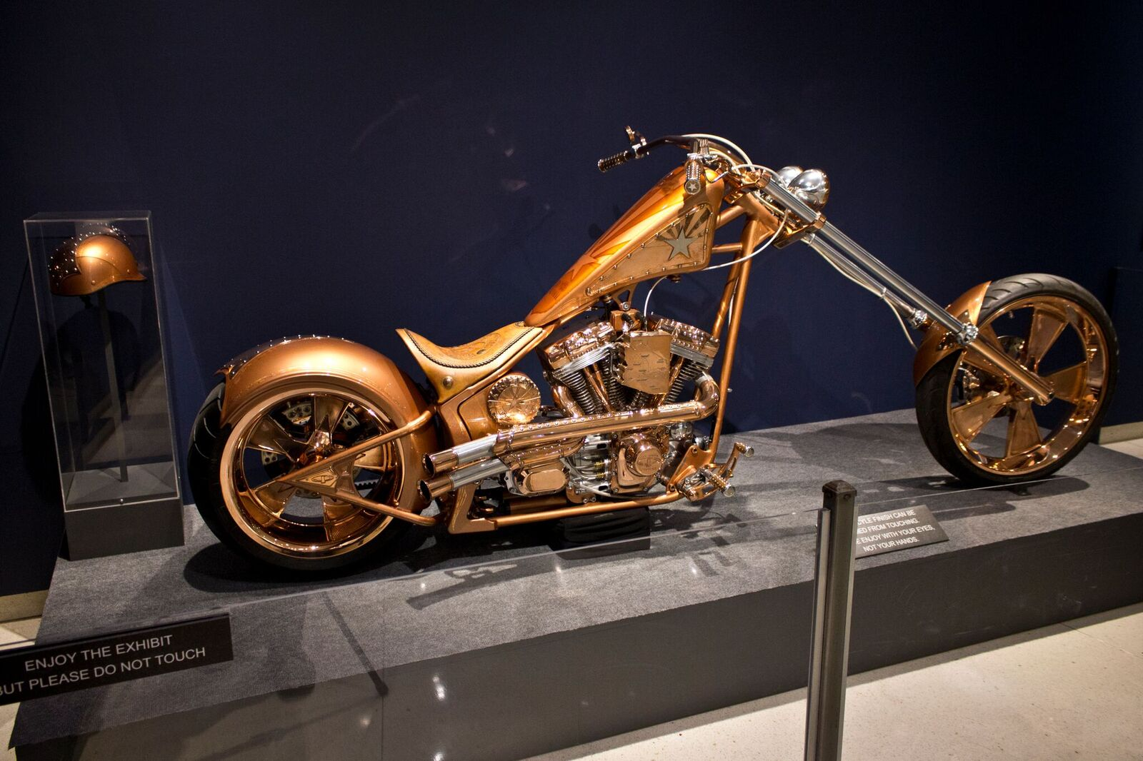 Paul Yaffe Featured Builder for Art of the Ride Exhibit at Phoenix Airport Museum