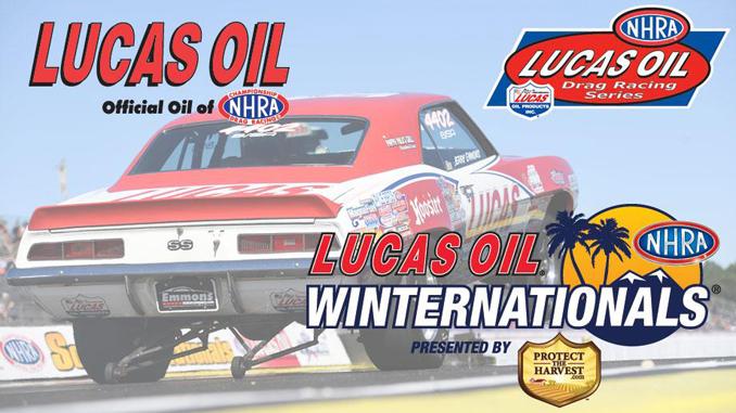 Lucas Oil official oil of NHRA