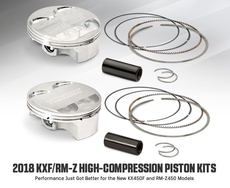 Pro Circuit High-Compression Piston Kits
