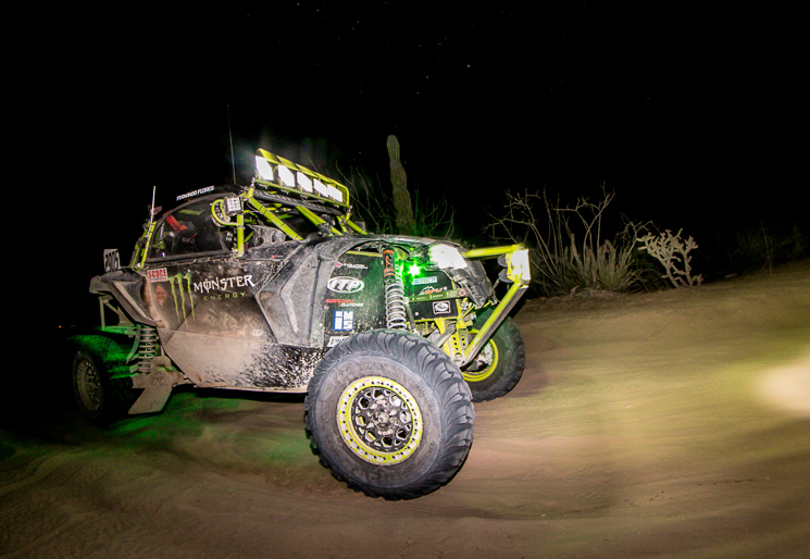 Phil Blurton - 2017 BITD UTV Pro Production Turbo champion. © Can-Am Maverick X3