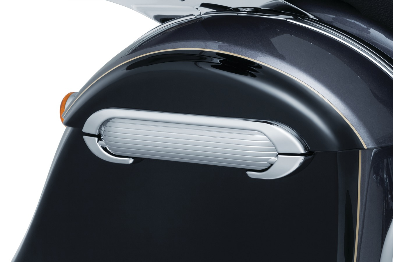 Kuryakyn Saddlebag Hinges for Indian - chrome