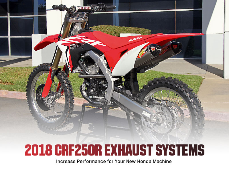 Pro Circuit 2018 CRF250R Exhaust