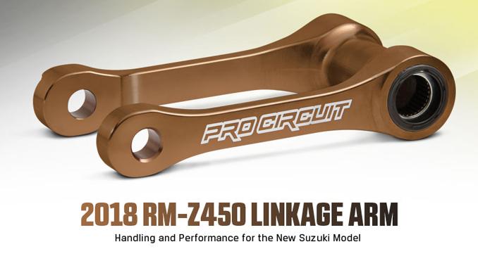 Pro Circuit 2018 RM Z450 Linkage Arm