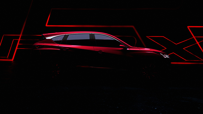 Acura RDX Prototype Teaser