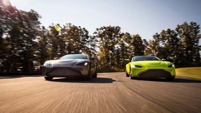 Season's Greetings from Aston Martin - Aston Martin Vantage