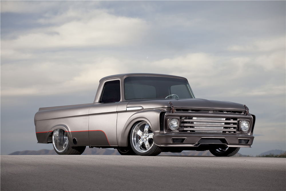 1962 F-100 Custom Pickup - Barrtett-Jackson - Scottsdale