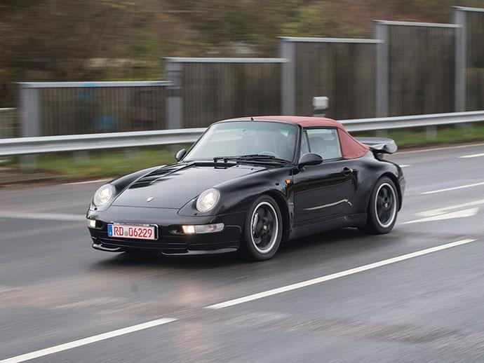 1995 Porsche 911 '993' Turbo Cabriolet - RM Sotheby's Paris Sale