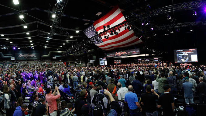 2018 Barrett-Jackson Scottsdale Auction runs Jan. 13-21 at WestWorld of Scottsdale,
