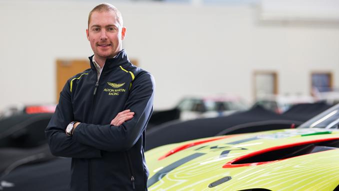 Aston Martin Racaing Maxime Martin