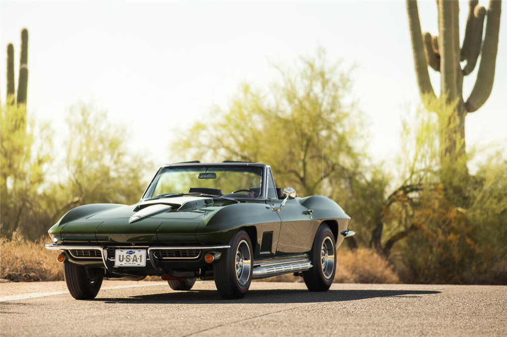 Barrett-Jackson Scottsdale - 1967 Corvette 427/390 Convertible
