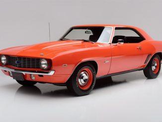 Barrett-Jackson Scottsdale - 1969 Chevrolet Camaro ZL1