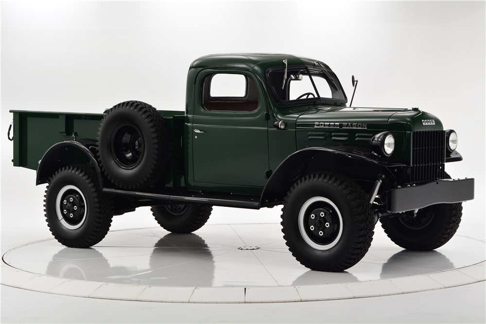 Barrett-Jackson Scottsdale Auction 1948 Dodge Power Wagon