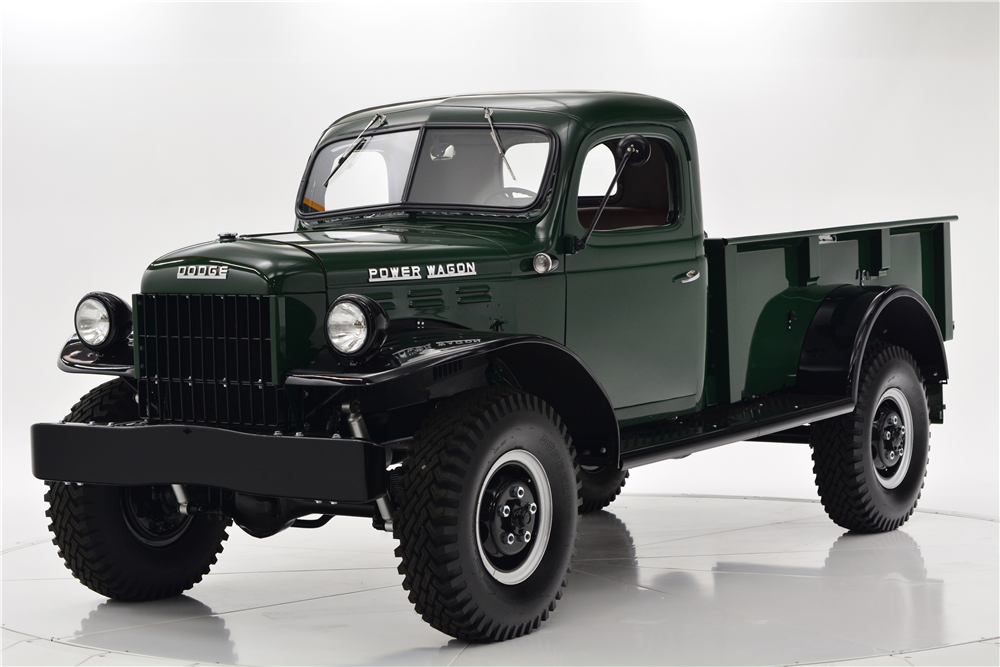 Barrett-Jackson Scottsdale Auction - 1948 Dodge Power Wagon Pickup (Lot #1028)