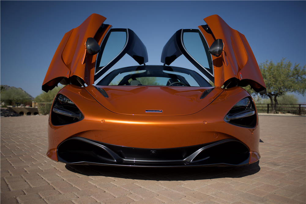 Barrett-Jackson - Scottsdale Auction - 2018 McLaren 720S (Lot #1480)
