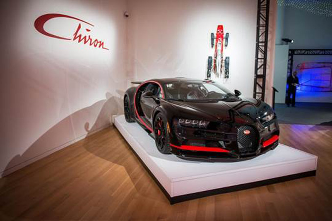 ICONS - The first ever Bugatti Chiron offered at public auction
