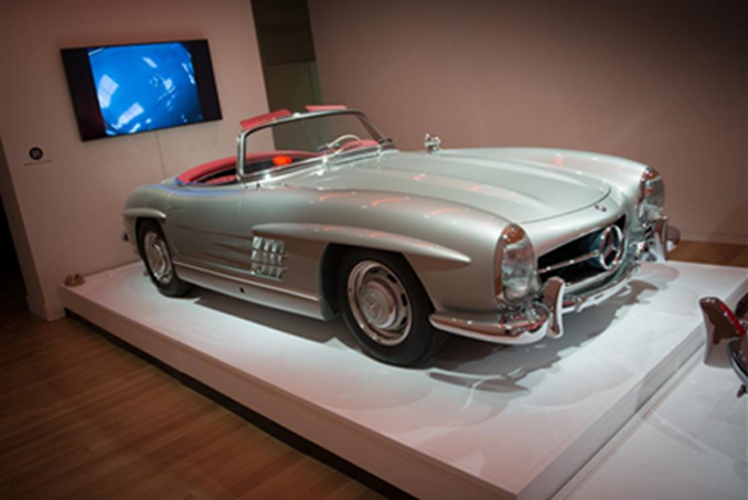 ICONS - The last 300 SL Roadster ever restored by renowned Rudi & Company