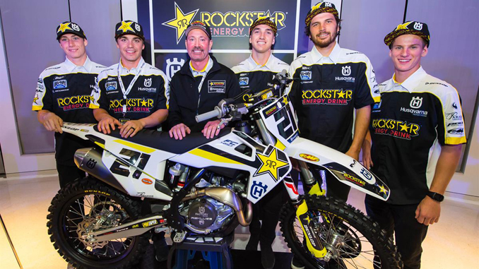 Rockstar Energy Husqvarna Factory Racing Supercross Team