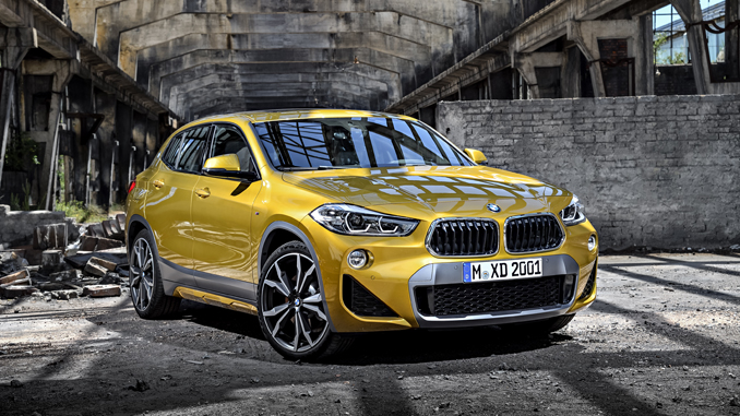 The brand new BMW X2. X2 xDrive20d, Model M Sport X