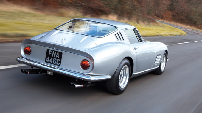 long nose, alloy bodied 1965 Ferrari 275 GTB - RM Sotheby's Paris Sale