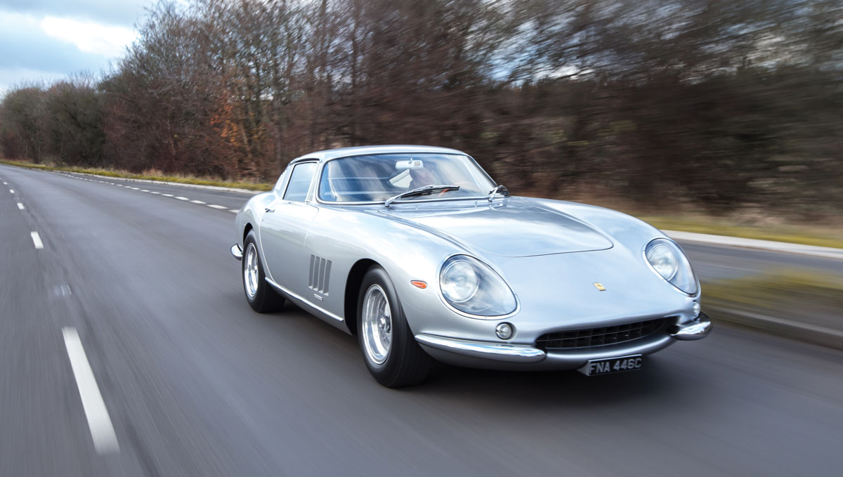 long-nose, alloy-bodied 1965 Ferrari 275 GTB