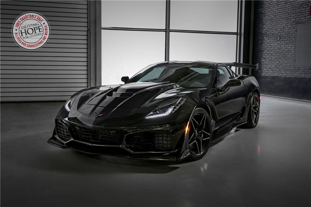 180103 Barrett-Jackson The first production 2019 ZR1 Corvette