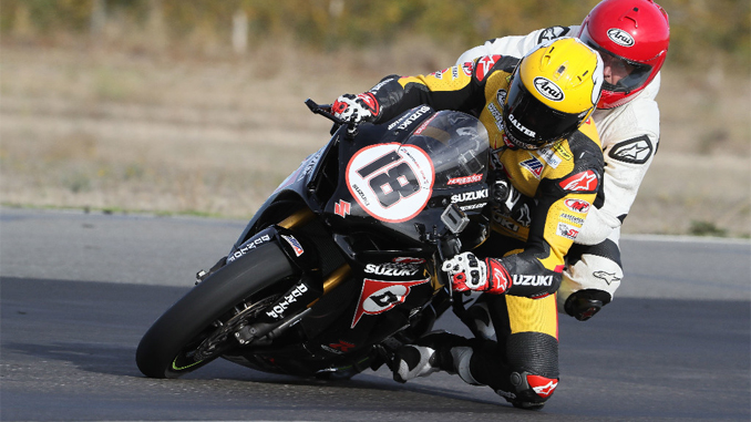 Dunlop M4 Suzuki Two-Seat Superbike at MotoAmerica events in 2018