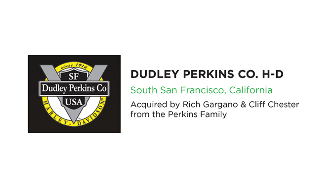 Performance Brokerage Services Announces Sale of Dudley Perkins Co. Harley Davidson