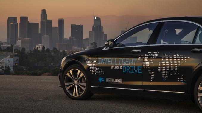 Final leg of the intelligent world drive motor sports for Mercedes benz autonomous driving