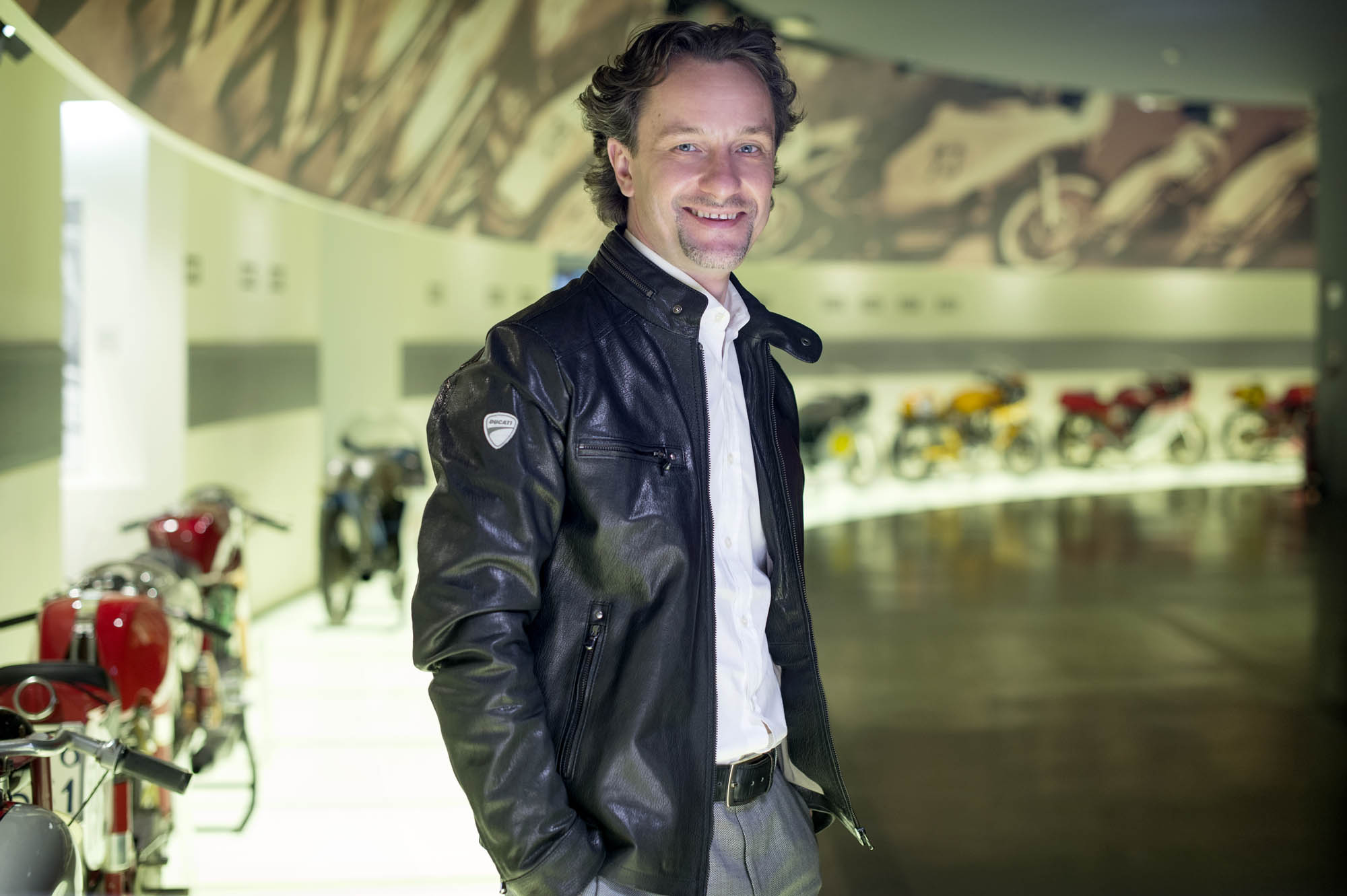 Andrea Buzzoni Global Sales and Marketing Director Ducati Motor Holding