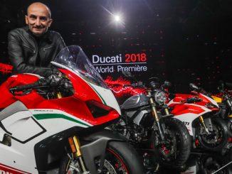 Ducati 2018 World Premiere - Claudio